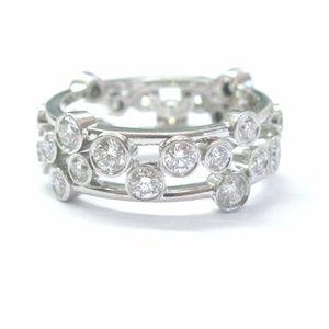 f6af569a8 Tiffany & Co. Jewelry   Tiffany Co Platinum Bubbles Diamond Ring ...